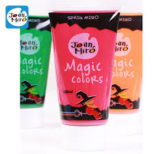 children finger painting paint 20 colors baby kids toys art paint drawing diy school supplies acrylic gouache paint 1 piece in acrylic paints from office