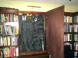 Hidden Gun Coat Rack Classy Concealed Gun Cabinet Monstaahorg