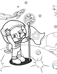 Small Picture Astronaut Coloring Page Handipoints