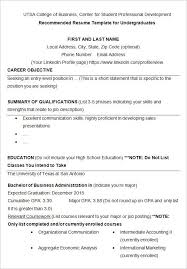 Resume Templates For Students Resume Templates Students College Spot Resume