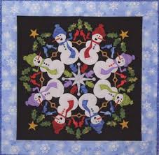 of Friends - Silly Snowmen Quilt Pattern & Circle of Friends - Silly Snowmen Quilt Pattern Adamdwight.com