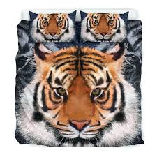 tiger bedding set animal print uk