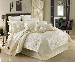 ivory comforter set queen with regard to marquis by j new york com inspirations 9