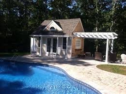 Small Pool House Traditional Pool Boston by Whitcomb