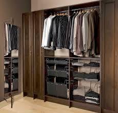 Slick Men's Closet Wall unit modern-closet