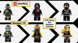 LEGO Ninjago Cole Minifigure Collection Season 1-13 (2011-2020) - YouTube