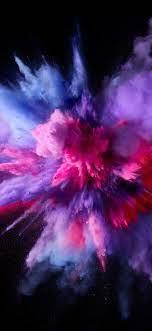 Iphone X Color Splash Wallpaper ...