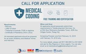 Filipino Tech Experts To Train As Us Medical Coders Billers