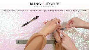 Bracelet Size Chart Mm Bracelet Sizing How To Measure Wrist Size For A Perfect