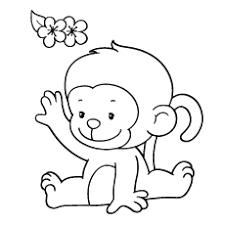 Here is the collection of 25 monkey coloring pages for your kid! Top 25 Free Printable Monkey Coloring Pages For Kids