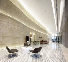 office lobby. Office Lobby. Robarts Spaces | Waigaoqiao Sunland International D4-4 Lobby N