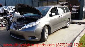 Parting Out 2012 Toyota Sienna - Stock - 3005GR - TLS Auto Recycling