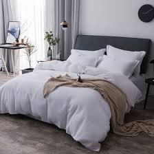 cotton waffle weave bedding white duvet