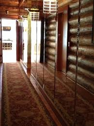 mansion master closet. Fontanel Mansion: Mirrored Hallway From Master Bedroom To Bath And Closet Mansion A