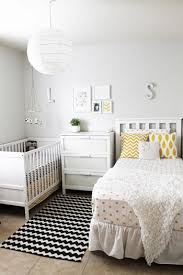 I like the ideas going on here for a room that is shared by a toddler