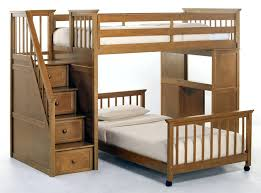 log loft bed with desk bunk beds for s mattress best interior de