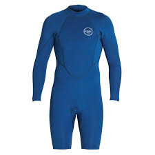 Xcel Wetsuits Size Chart Cm 2mm Long Sleeve Axis Shorty Wetsuit Blue