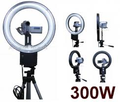 ring light product photography. 150w, 300w, 500w cfl ring light for video and photography product c