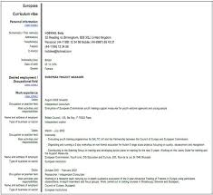 Curriculum Vitae Formato Word Para Rellenar Descargar