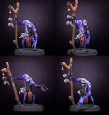 dota2 witch doctor tiki trappings polycount