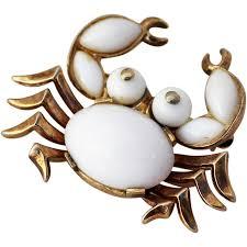 Trifari Alfred Philippe Designs Trifari Crab Brooch Alfred Philippe Design In 2019 Stuff