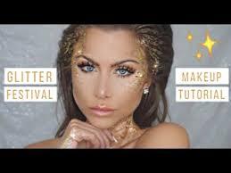 glitter makeup tutorial costume beeisforbeeauty
