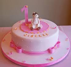 10 Turning One Birthday Cakes For Girls Photo Girls 1st Birthday