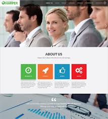 Business Website Templates Adorable 28 Business HTML28 Themes Templates Free Premium Templates