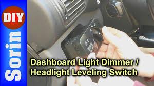 Interior Light Dimmer Switch Dashboard Light Dimmer Switch Headlight Leveling Switch Seat Leon 1m Toledo 2