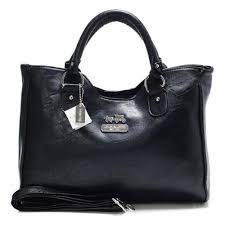 Coach Legacy Large Black Satchels ABW
