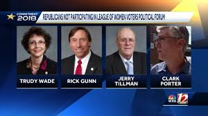 Some GOP candidates refuse to participate in League of Women Voters forums.