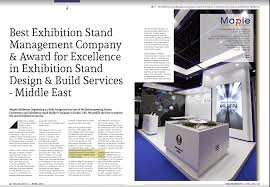 Design Build Expo 2017 Gcc Enterprise Mena Awards 2017 For Best Exhibition Stand