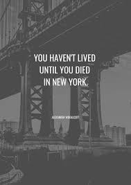 Citation De New York Mes Favorites