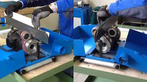 metal deburring tool. sheet metal deburring machine - art.53 aceti macchine tool