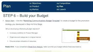 Product Marketing Plan Template Free Go To Market Powerpoint
