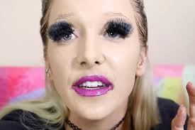 you edian jenna marbles takes on the 100 layer makeup challenge in epic video
