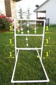 diy homemade ladder golf game hillbilly horseshoes