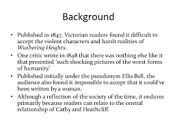 wuthering heights emily bront atilde ppt video online wuthering heights gothic novel 3 background