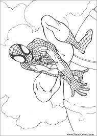 Tekeningen Te Schilderen Kleur Spiderman Print Design 068