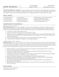 Retail Sales Resume Sample
