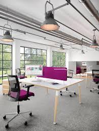 Industrial modern office Modeling Agency Modern Industrial Office Space pink purple bright industrial Pinterest Modern Industrial Office Space pink purple bright industrial
