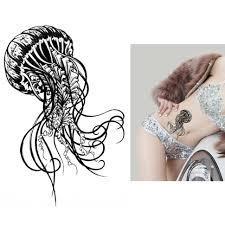 временная татуировка медуза Tat270