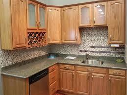 For Very Small Kitchens Furniture Popular Oak Kitchen Cabinets Ideas Tiny Oak Kitchen