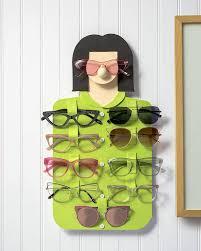 diy glasses rack