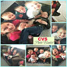 cvs pharmacy photo blanket personalized photo card perfect gift for mom