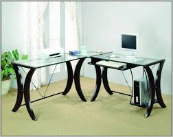 office table with glass top. Office Depot Glass Computer Desk. Desk Hostgarcia Realspace Merido Main H X W D Table With Top