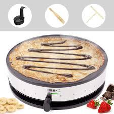 Duronic <b>Crepe Maker</b> PM131 | 33cm Electric <b>Pancake</b> Machine ...
