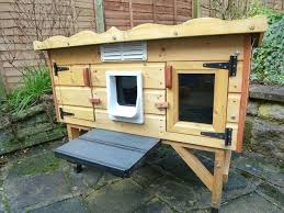 waterproof cat house free kennel dog outdoor plans homemade making shelters