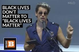 Black Lives Matter Quotes Mesmerizing Milo On FBI Stats Vs Black Lives Matter LYBIONET Discover New