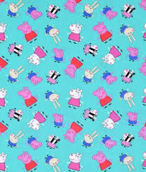 Peppa Pig Fabric | OnlineFabricStore.net & Springs Creative Entertainment One Peppa Pig & Friends Fabric Adamdwight.com